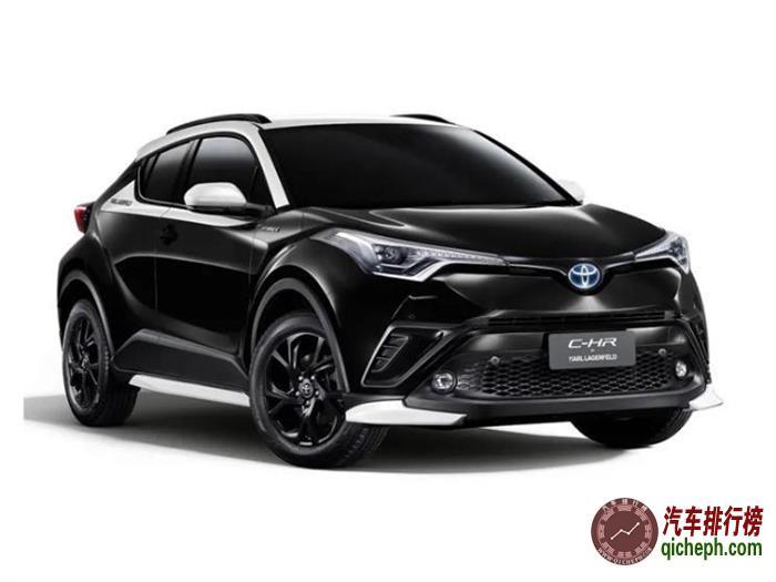 特供泰国市场 丰田C-HR限量版官图发布