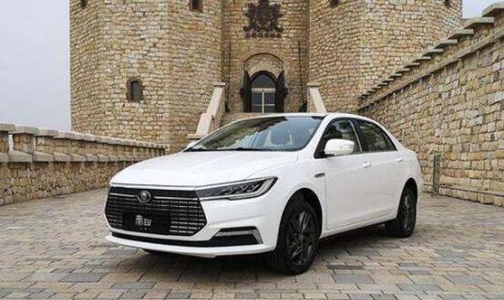 2020年4月新能源轿车销量排行榜,秦EV位居第一