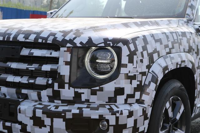 造型硬朗/或为新车系? 哈弗全新SUV谍照曝光