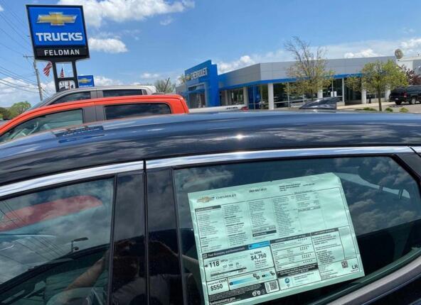 美国2020年汽车销量排行榜 仅3家车企增长